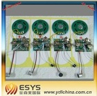 sound module with motion sensor for greeting card