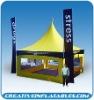 Advertising tent