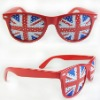Flag logo printed on the lenses Promotion sunglasses