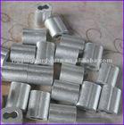 round aluminium sleeves , aluminium wire rope ferrules
