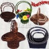Hot Sell Handle Flower Basket in Cheap price