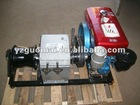 3T or 5T diesel engine winch