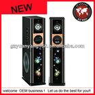 2012 new 2.0 tower speaker with wireless/USB/Bluetooth