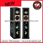 2012 new 2.0 tower speaker with wireless/USB/Bluetooth