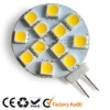 AC/DC10~25v 12SMD flat panel g4 marine led light
