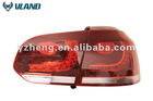 Car led tail lamp for V.W Golf 6 2010