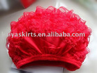 red cut lace bloomer