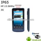 Rugged android barcode reader phone (IP65)