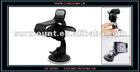 Car Auto Black Plastic Clip Design Mobile Phone Holder