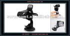 Car Auto Black Plastic Clip Design Mobile Phone Holder