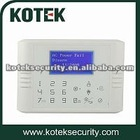 KT-G8A Dual-network wired&wireless alarm system ,pstn and gsm alarm system