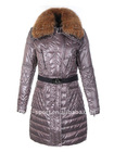 lady's windproof fur collar down coats /parka