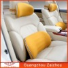 8512 new delicate and high end neck pillow and lumbar cushion combed cotton and memory foam car pillow