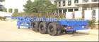 TRI-axle Flat bed semi-trailer