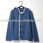 2012 newest long sleeve girls coat