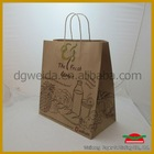 Red Paper Carrier Bag
