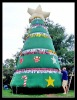 2012 new deisgn giant inflatable christmas tree
