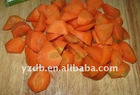 Boiled carrot random cut