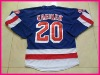 Hot Sell Ice hockey jersey 20 Ryan Suter blue jersey name and number are sewn on size48--56