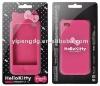 2012 Nice Design Purple Smartphone Accessory, Good Silicone Smart Phone Cover
