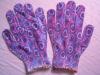 nylon print glove