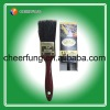 RED PLASTIC HANDLE PAINT BRUSH WITH H.B.SMITH TYPE (PB-0023)