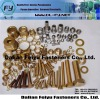 Hign quality environmental brass flat round head rivet