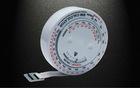 2011 hot selling top qanlity plastic tape measure 1.5 mini tape measure for promotion