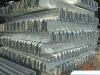 galvanized highway guardrail