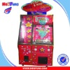 2 players twister coin pusher game machine