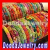 Handmade DOG Lily and Laura Crocheted Beaded Bracelets