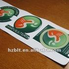 Product Marking Epoxy Stickers with Irregular Shape