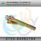 custom copper military tie clip
