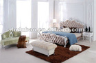 2012 new design hot selling high quality popular classical solid wood hotel neo classical antique bedroom furniture set