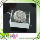 2012 fashion rhinestone button for garment
