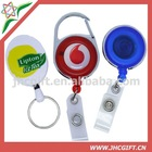 multi-style retractable yoyo carabiner id badge reel