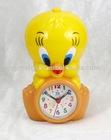 Alarm clock,cartoon clock, duck clock,promotion clock,clock,lcd clock,desk clock, table clock
