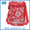 outdoor sports 600d PVC Red cooler bag for frozen food