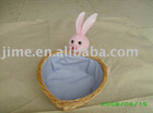 JM7393 gift basket, wicker basket, Easter basket