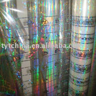 stamping packaging film (holographic pet film)