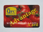 restaurant membership card