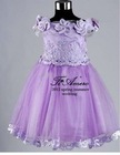2012 Tiamero Vintage Flower Girl Dresses Patterns TB-023