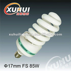 2012 new 17mm full spiral 85w energy saving lamp