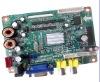 VGA+AV(can choose BNC connector)+Audio LCD control board