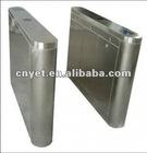 Manual/electronic optical turnstile