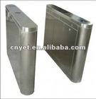 Manual/electronic optical turnstile