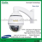 Intelligent High Speed Dome Camera with 360 degree Viewing Angle, Original Sumsang Movement