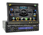 car player 1din with gps, 3D cartoon menu ,removeable menu icon ,bluetooth ,RDS,DVB-T , PIP funtion .