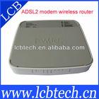 Wireless ADSL router modem