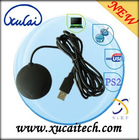 USB GPS Receiver for Computers with USB Adapter